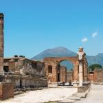 Pompeii and Mt. Vesuvius-dreamstime