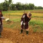 vietnam hue rural farming with locals