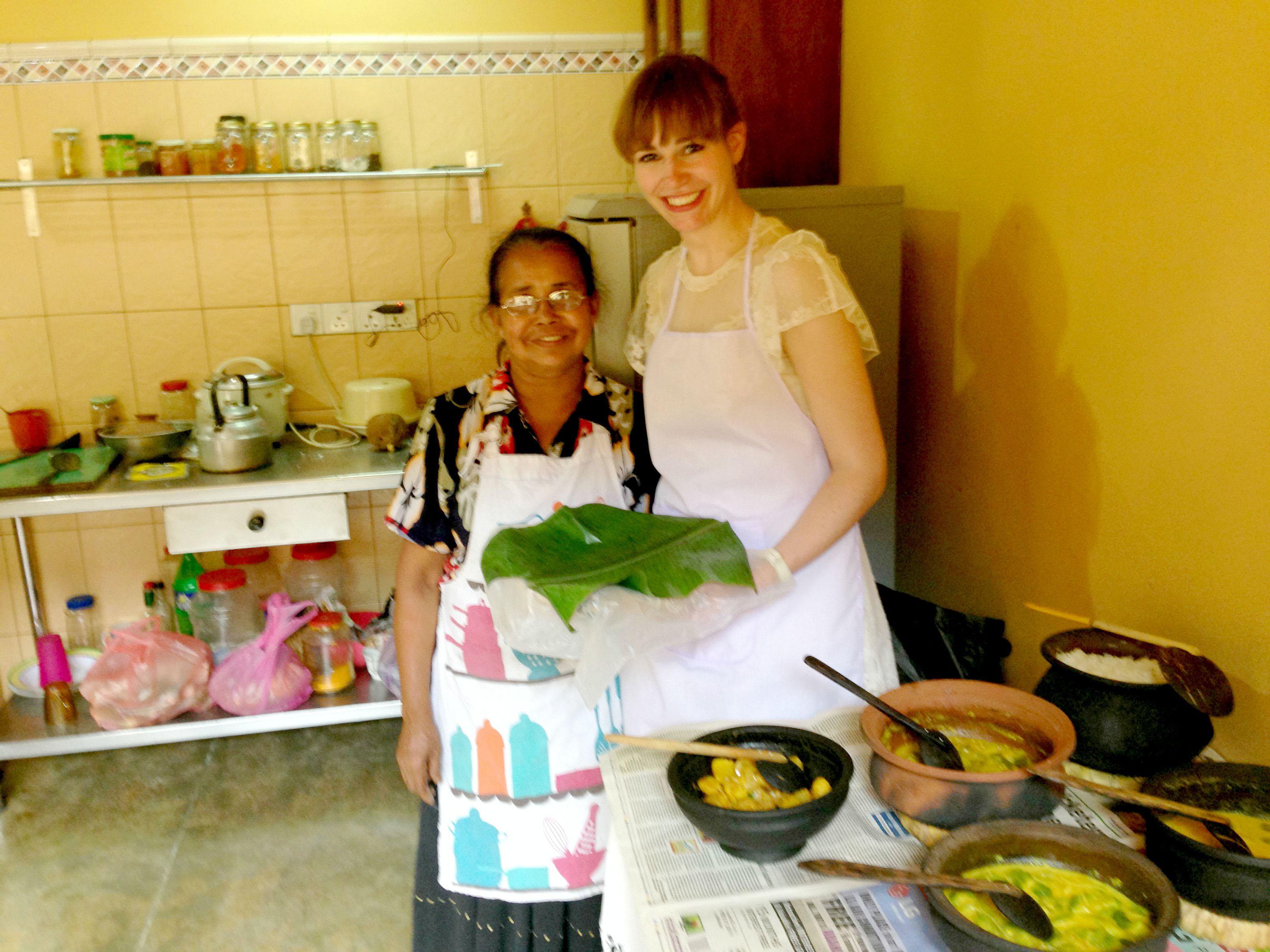 Sri-Lanka-Gampola-Homestay-Local-Cook-Staff-Jennifer