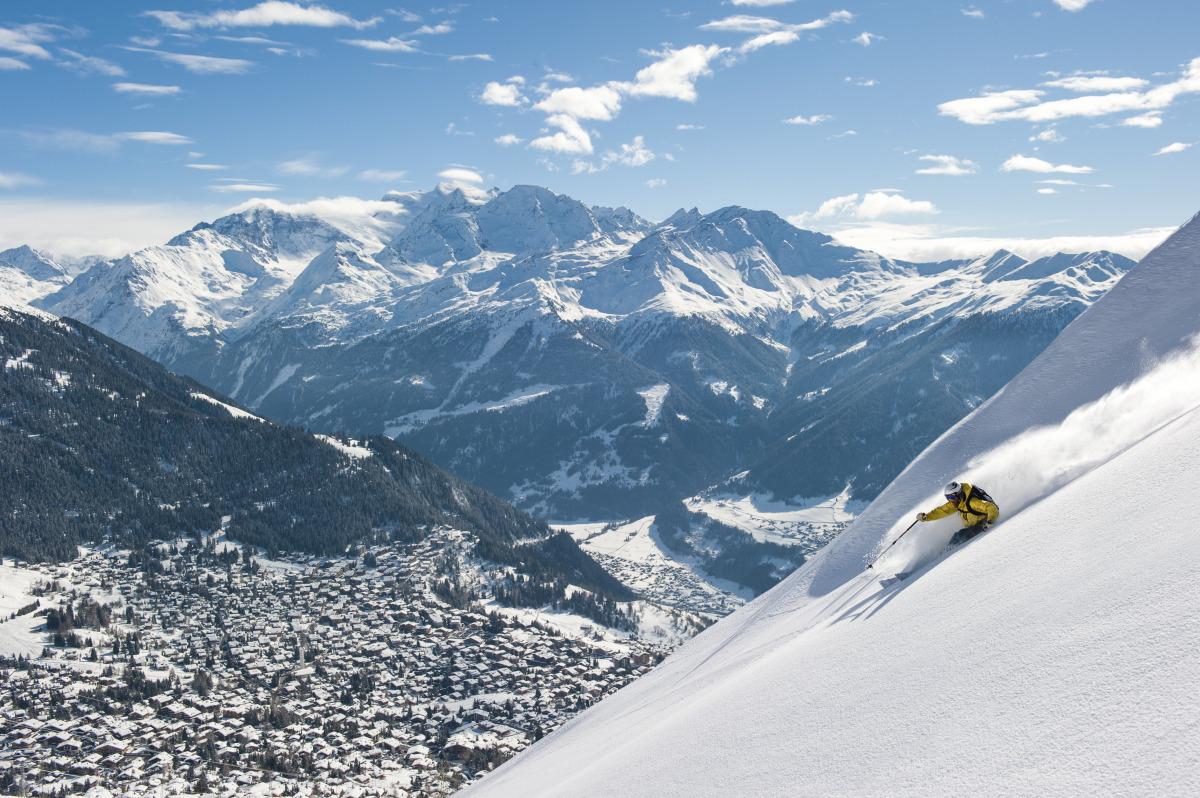 An Insider's Look at SkiingVerbier